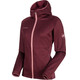 Mammut W's Get Away ML Hooded Jacket merlot melange